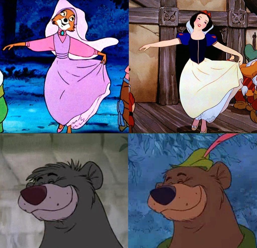 Disney Canon Countdown 21 Robin Hood Rotoscopers