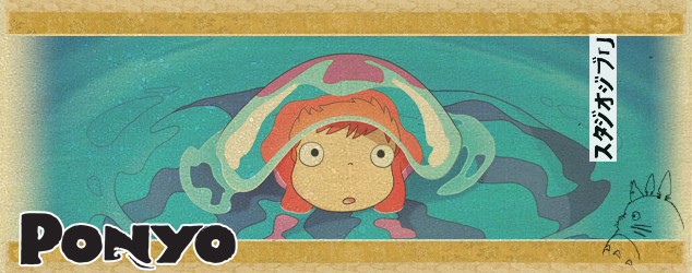 Studio Ghibli Countdown Ponyo Rotoscopers