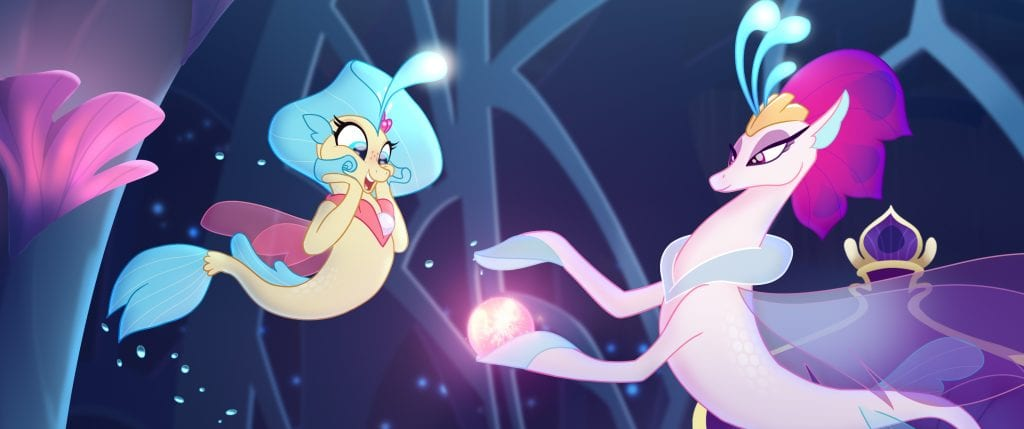 Mega Drop Of My Little Pony The Movie Goodies Trailer Title