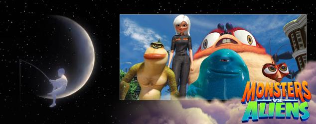 DreamWorks Animation Countdown Monsters vs Aliens