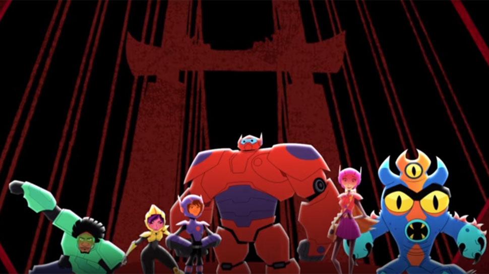 Big Hero 6 The Series Opening Credits