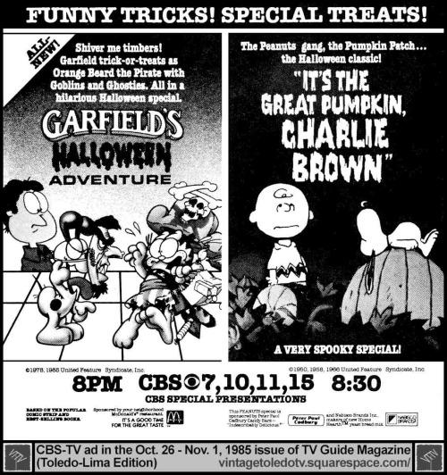 halloween countdown garfields halloween adventure rotoscopers
