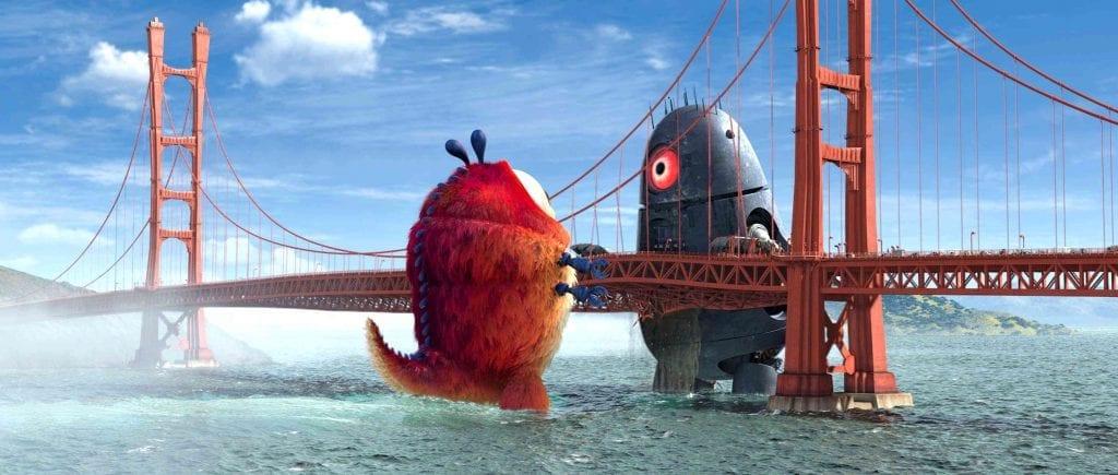 Monsters vs Aliens - Battle on the Golden Gate Bridge