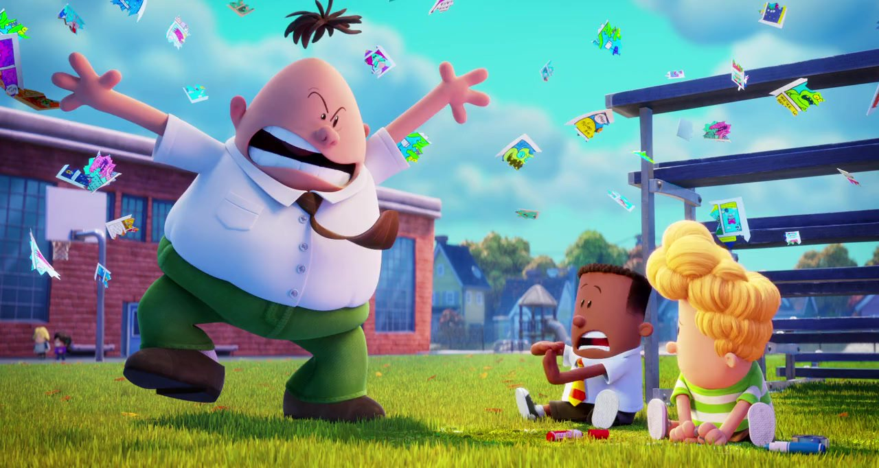 captain underpants the first epic movie cast