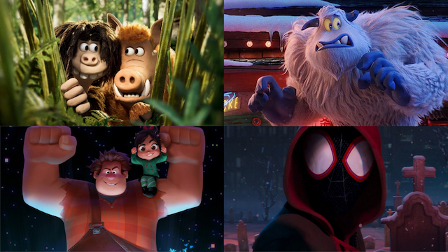 Early Man / Smallfoot / Ralph Breaks the Internet: Wreck-It Ralph 2 / Spider-Man: Into the SpiderVerse