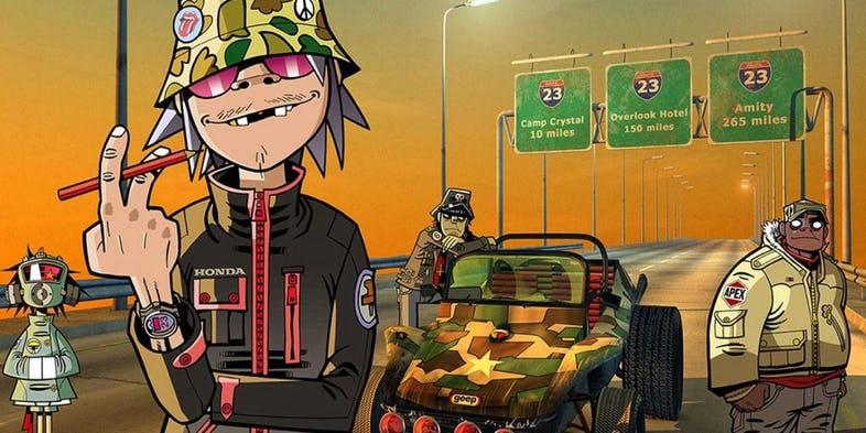 Gorillaz The Animated Series