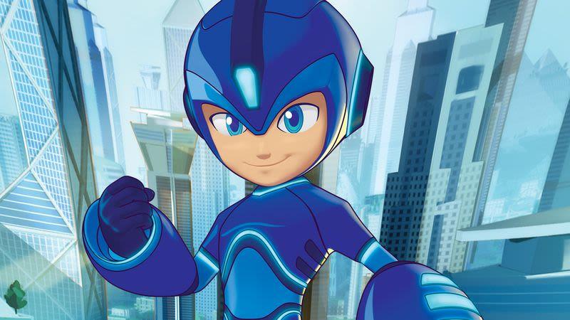 Mega Man 2018 Animated Series