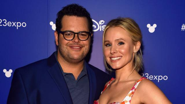 Josh Gad and Kristen Bell voicing characters in 'Central Park'