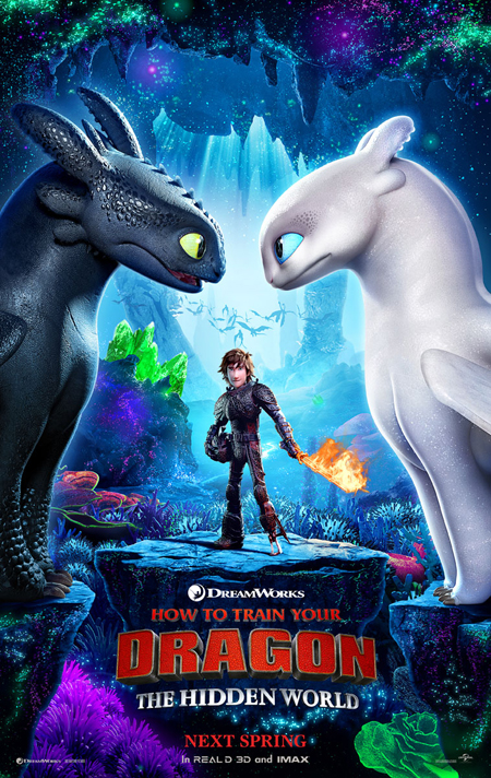 First official poster for How To Train Your Dragon The Hidden World
