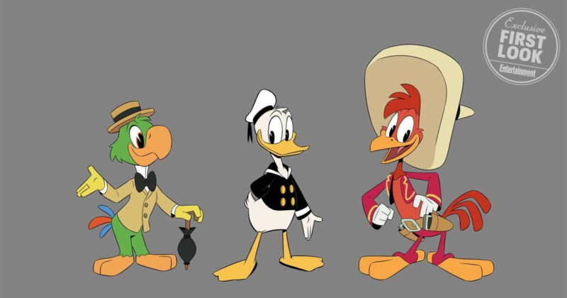 The Three Caballeros in DuckTales season two