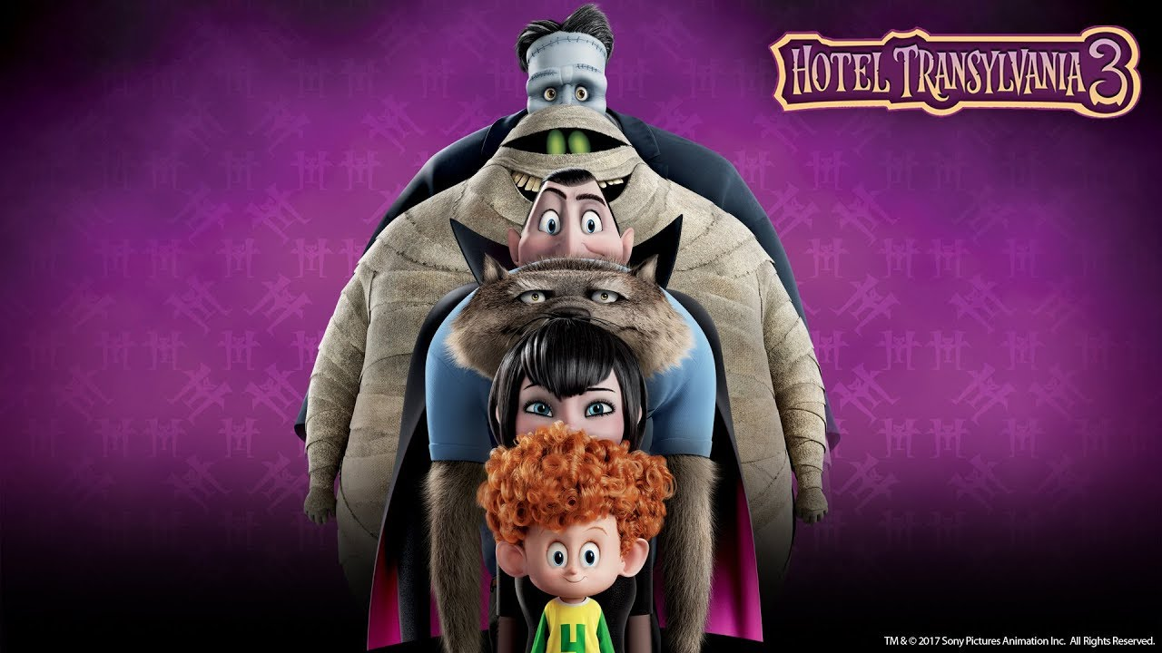 Review Hotel Transylvania 3 Summer Vacation Rotoscopers