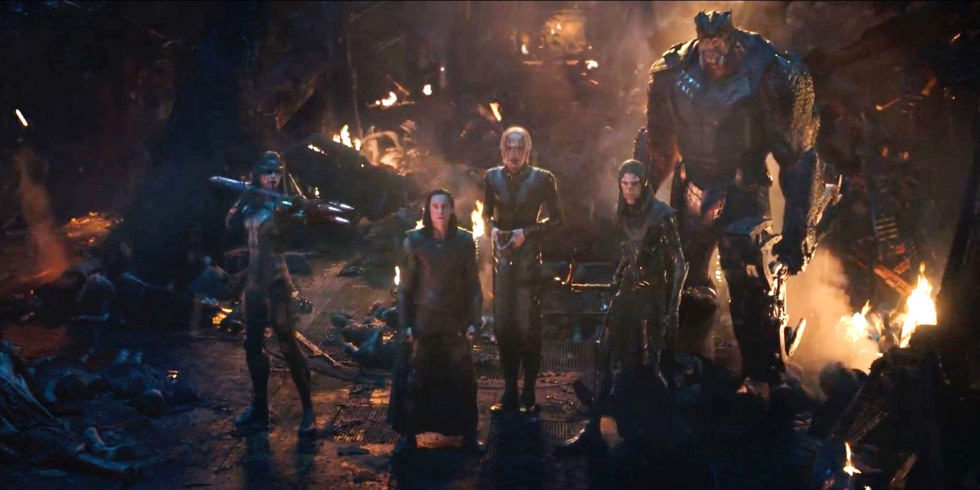Thanos' Dark Order (and Loki) in Avengers: Infinity War