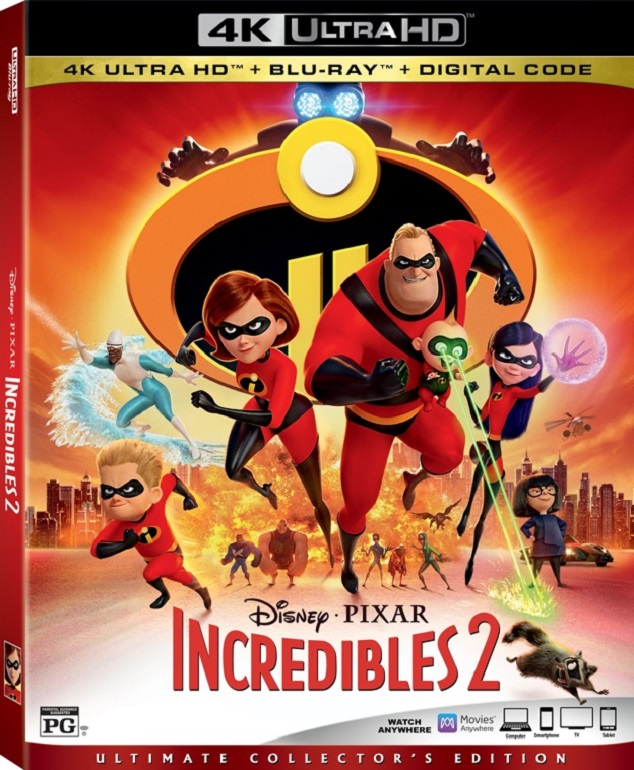 Incredibles 2 Digital & Blu-ray Release Dates Announced | Rotoscopers