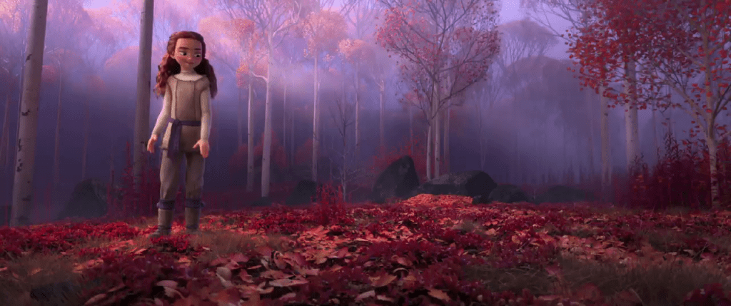 frozen-2-trailer-screencap-girl-leaves