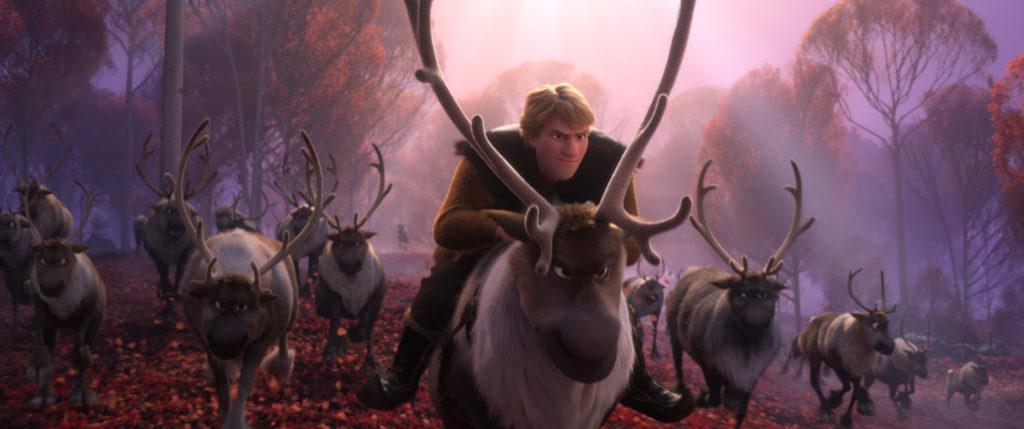 frozen-2-kristoff-sven-reindeer-running-forest