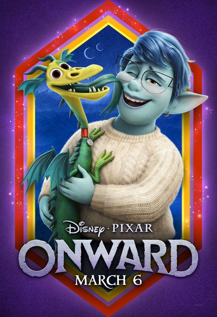 [TRAILER] New Trailer and Posters for Pixar's 'Onward'