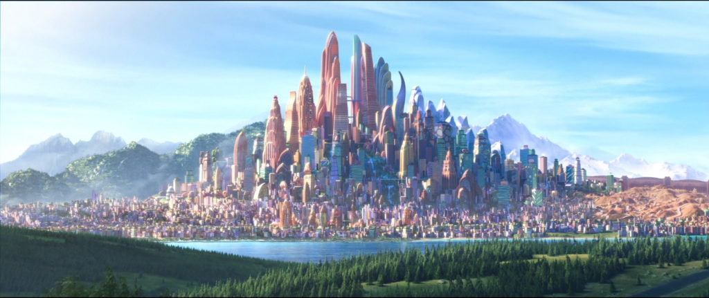 The City of Zootopia