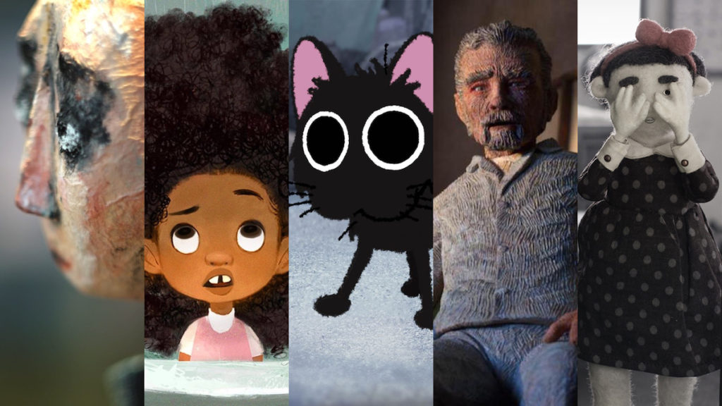 'Dcera (Daughter)', 'Hair Love', 'Kitbull', 'Mémorable', and 'Sister' were nominated for Best Animated Short Film.