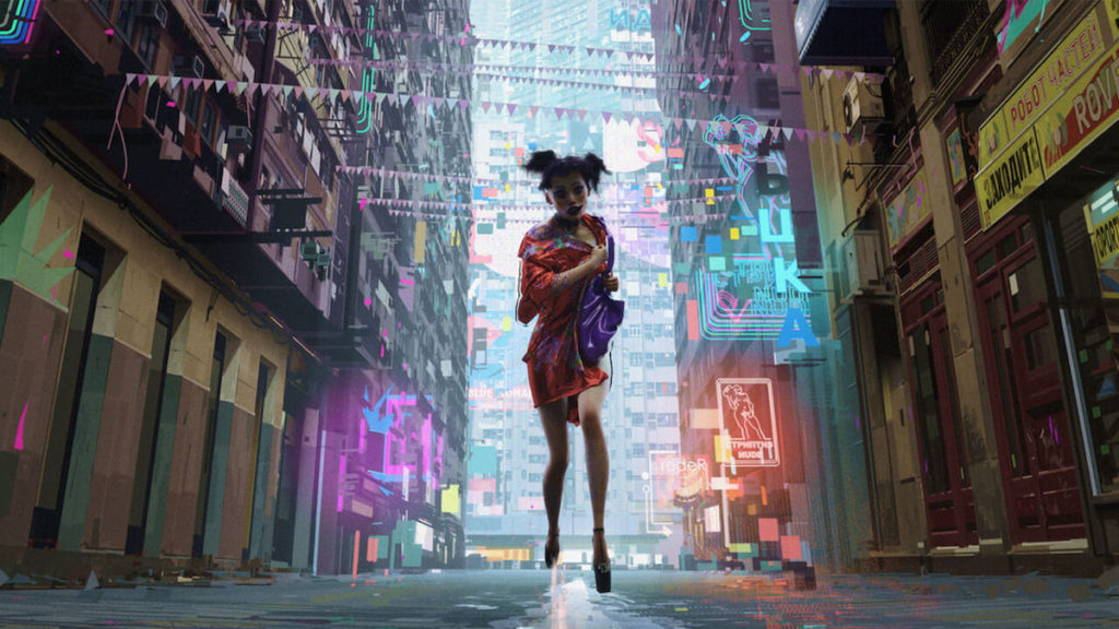 """'Love, Death & Robots' - """"The Witness"""""""