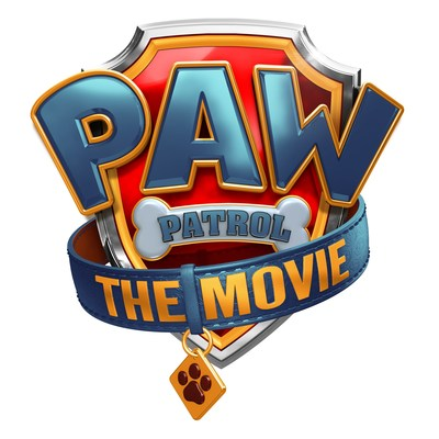 Official logo of 'PAW Patrol: The Movie'.