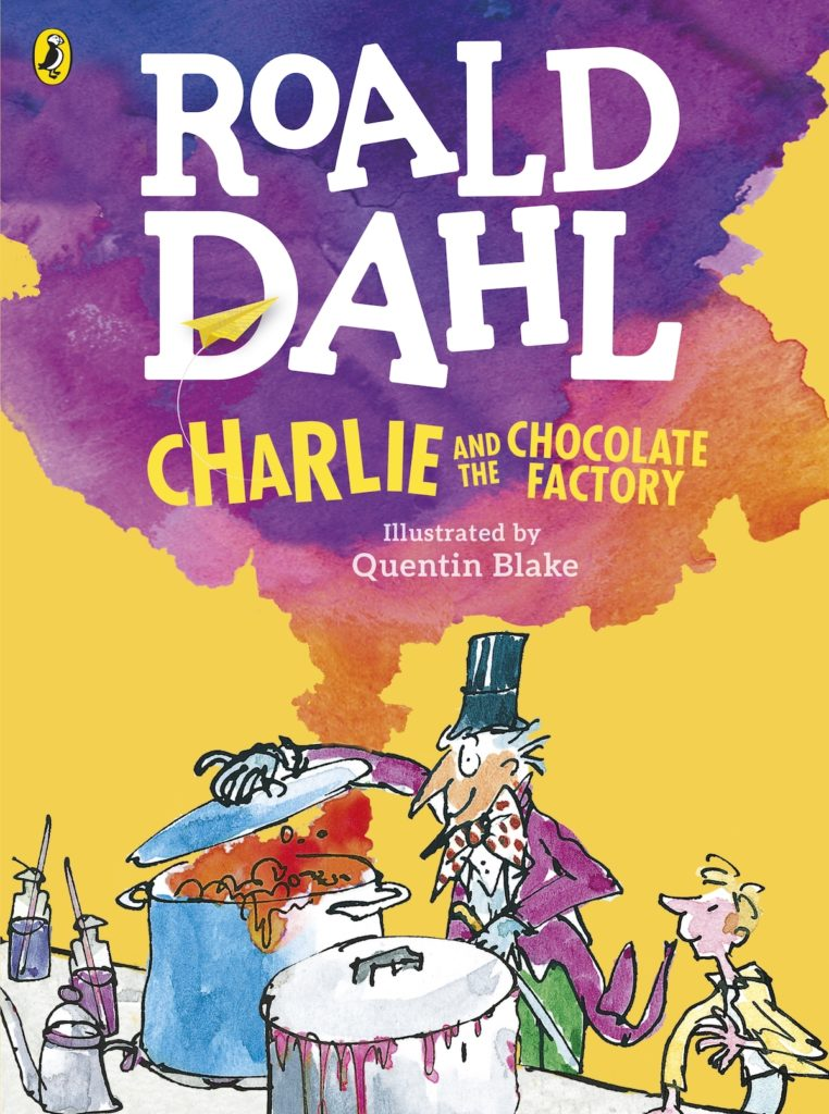 'Charlie and the Chocolate Factory' book cover