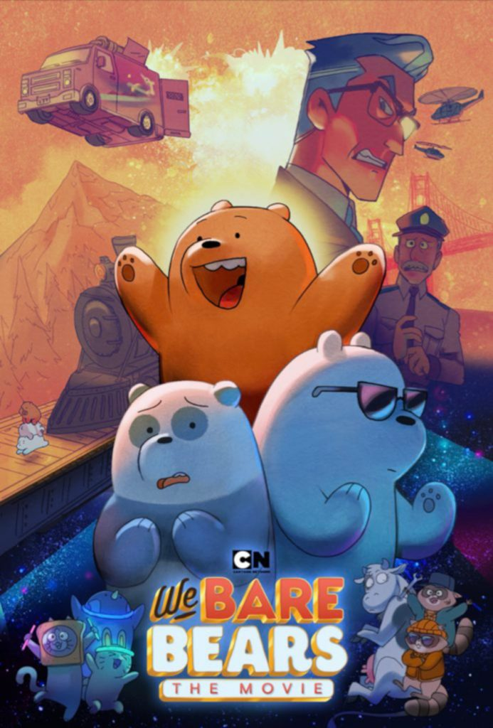 'We Bare Bears: The Movie' poster