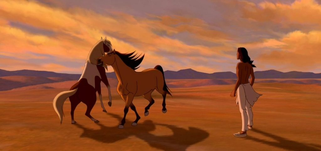 Asbury's directorial debut 'Spirit: Stallion of the Cimarron' (2002) experimented with a unique narrative of non-verbal horses.