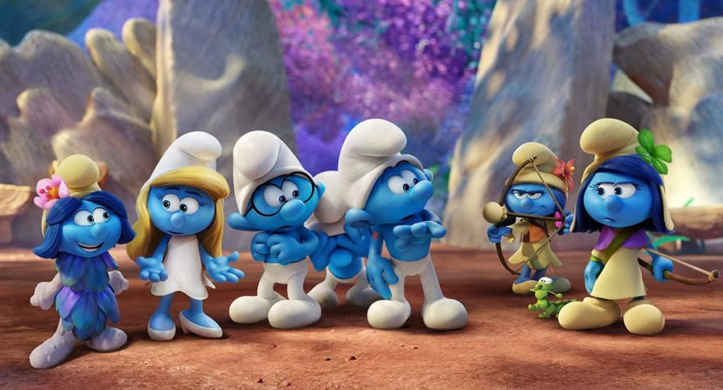 For 'Smurfs: The Lost Village' (2017), Asbury wanted to look into unexplored elements of the franchise.