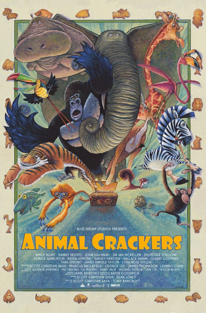 Early 'Animal Crackers' poster.