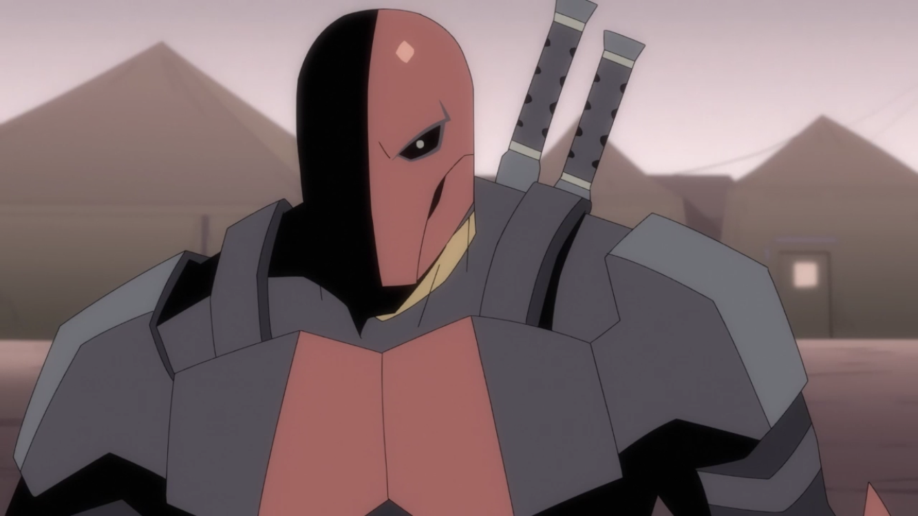 Trailer Things Get Personal In Deathstroke Knights Dragons Rotoscopers