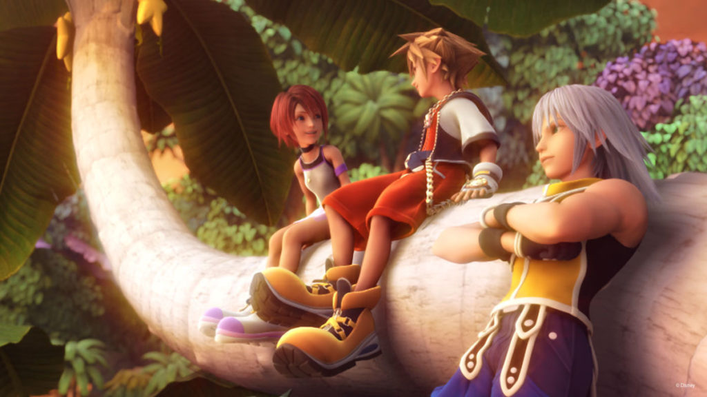 Sora, Riku, and Kairi
