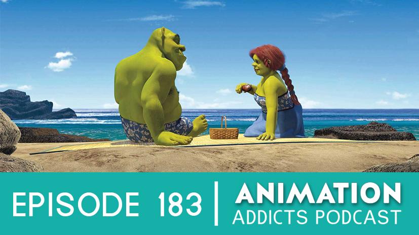 Animation Addicts Podcast 183 Shrek 2 Sexy Man Boy Kyle Rotoscopers