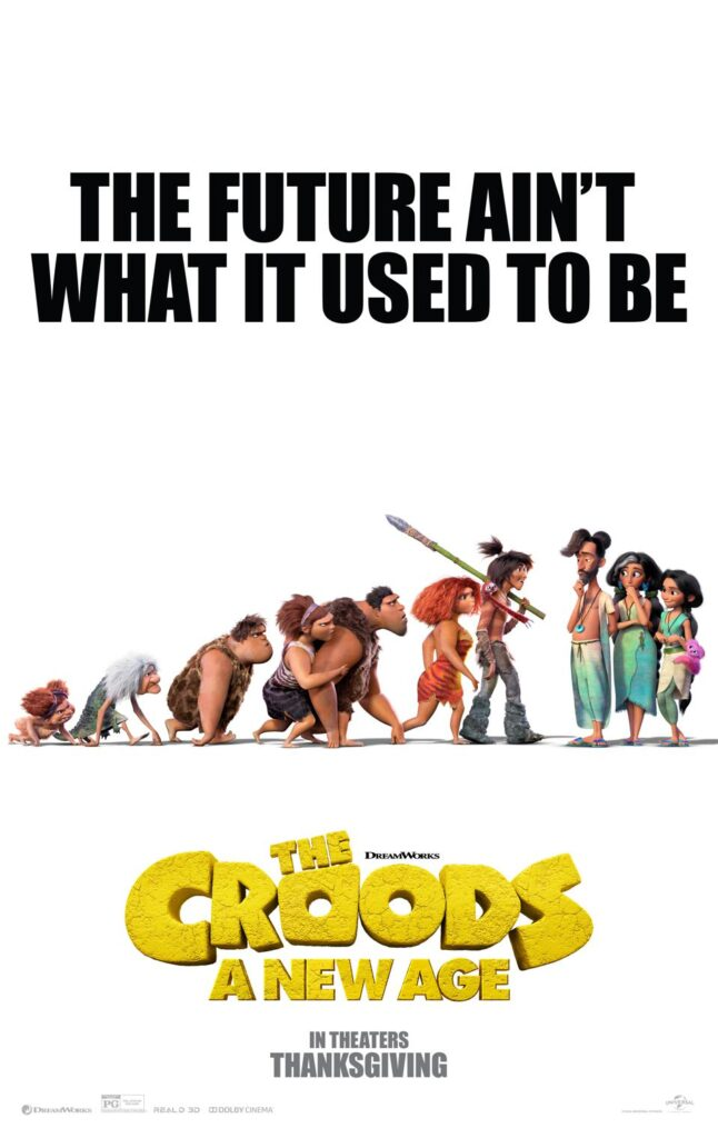 'The Croods: A New Age' poster