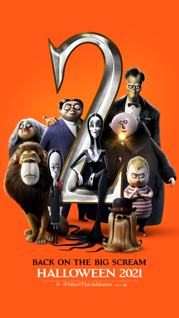 'The Addams Family 2' poster