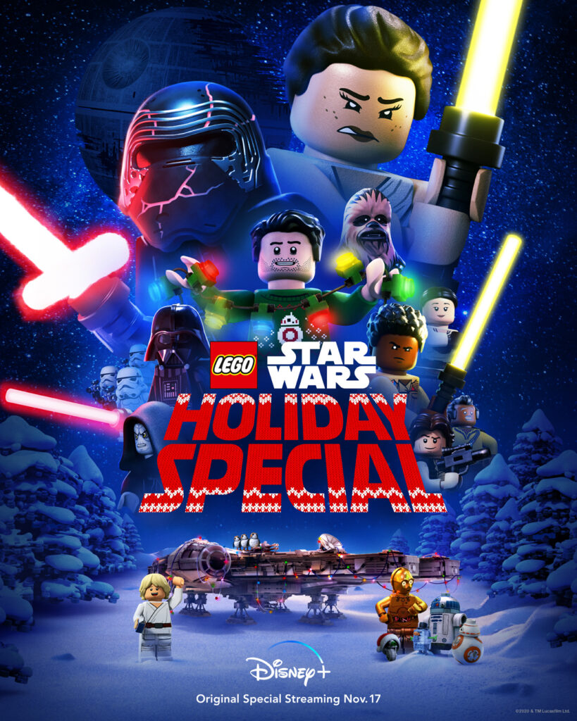 'Lego Star Wars Holiday Special' poster