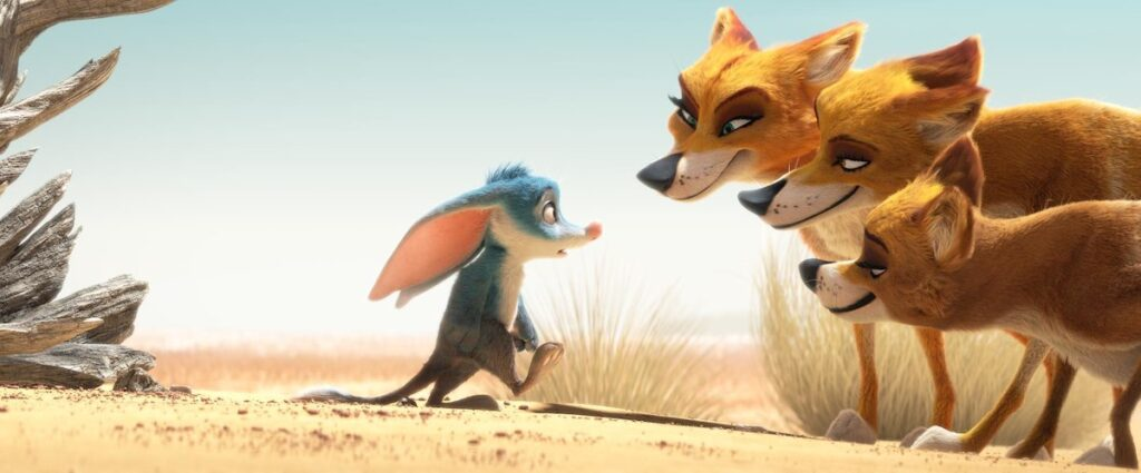 Cripps and Minchin's Australian outback project originated at DreamWorks as 'Larrikins' before being cancelled and re-purposed as the animated short 'Bilby'.