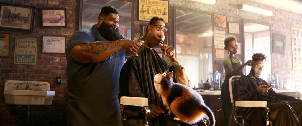 Joe at the barber