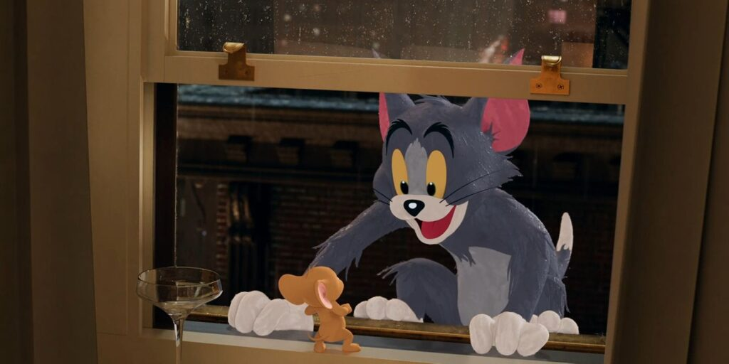 Tom and Jerry's penthouse escapades.